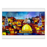 JERUSALEM HEART GREETING CARD