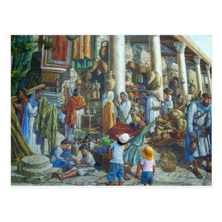 Jerusalem, Holy City by Miguel Nicolaevsky Postcard