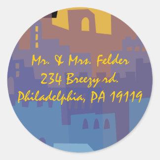 Jerusalem Holy City Reply Sticker Seal