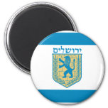 Jerusalem, Israel 2 Inch Round Magnet