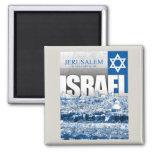 Jerusalem, Israel 2 Inch Square Magnet
