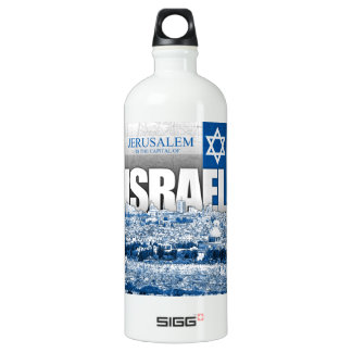 Jerusalem, Israel Aluminum Water Bottle