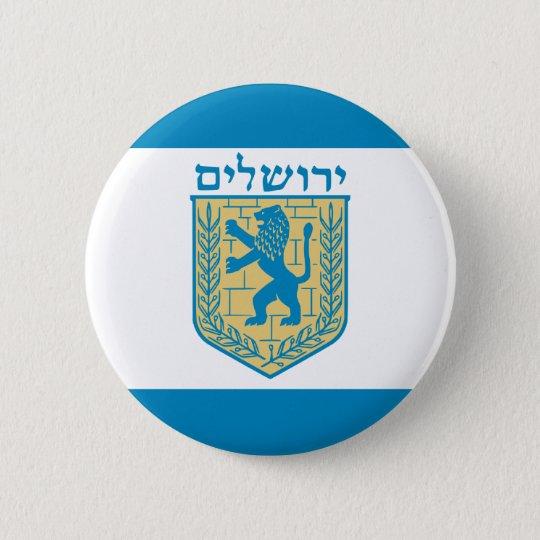 Jerusalem, Israel Button