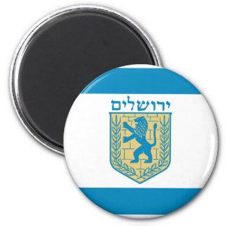 Jerusalem, Israel Magnet