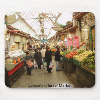 Jerusalem Israel Market Mouse Pad