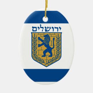 Jerusalem, Israel Christmas Tree Ornament