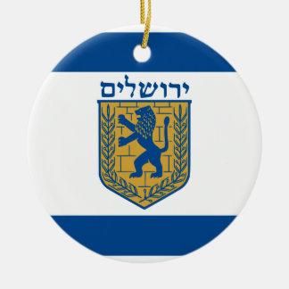 Jerusalem, Israel Christmas Ornaments