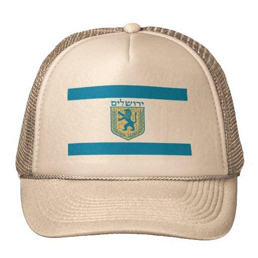 Jerusalem, Israel Trucker Hats