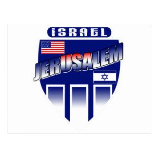 Jerusalem - Israel/USA Postcard