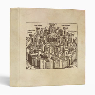 Jerusalem, Medieval Woodcut Binder