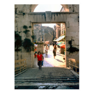 Jerusalem, near the Church of the Holy Sepulchre Postcard