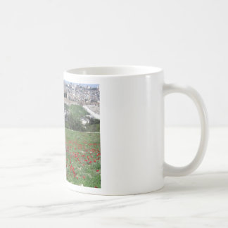Jerusalem of Gold and Red Flowers Coffee Mug