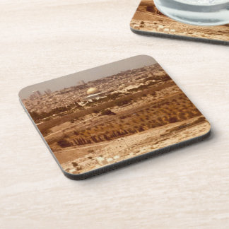 Jerusalem of Gold Coaster Set