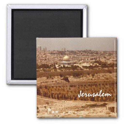 Jerusalem of Gold Magnets