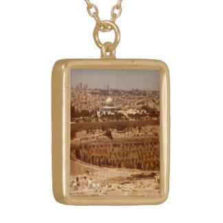 Jerusalem of Gold Necklace