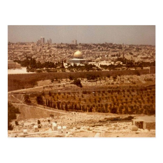 Jerusalem of Gold Postcard