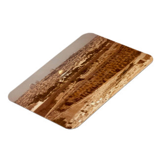 Jerusalem of Gold Premium Magnet
