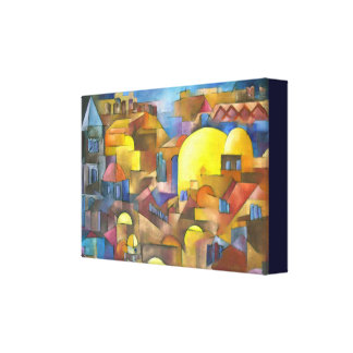Jerusalem Old city Canvas Print