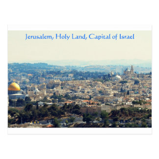 Jerusalem panoramic_edited-1A (6856 x 2400), Je... Postcard
