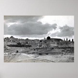 Jerusalem - Pre 1940 Poster