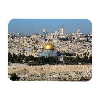 Jerusalem Rectangular Photo Magnet