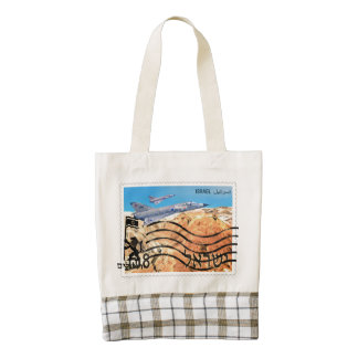 Jerusalem Reunification 50th Anniversary Zazzle HEART Tote Bag