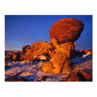 Jerusalem Rocks in Winter near Sweetgrass Postcard