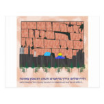 Jerusalem Skyline Postcard