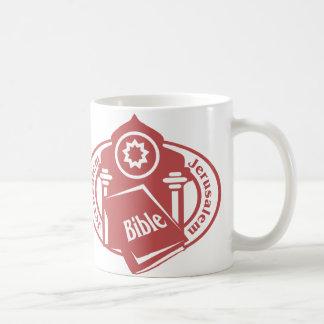 Jerusalem Stamp Classic White Coffee Mug