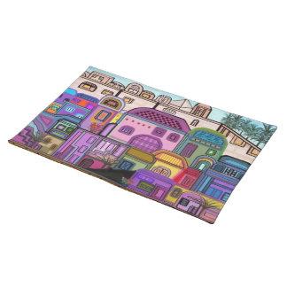 Jerusalem Tapestry Custom Placemats