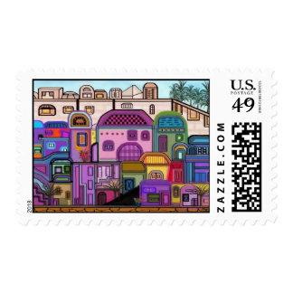 Jerusalem Tapestry Postage Stamps