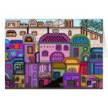 Jerusalem Tapestry Rosh Hashanah Card