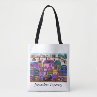 Jerusalem Tapestry Tote Bag