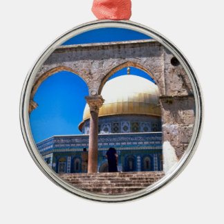 Jerusalem, the Dome of the Rock Metal Ornament
