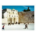 Jerusalem, the Western Wall Postcard