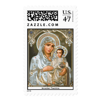 Jerusalem Theotokos - Postage