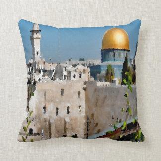 Jerusalem Throw Pillow