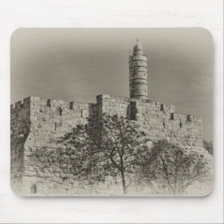 Jerusalem Tower of David Mouse Pad
