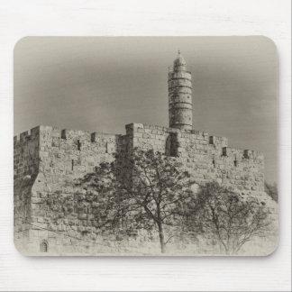 Jerusalem Tower of David Mouse Pads