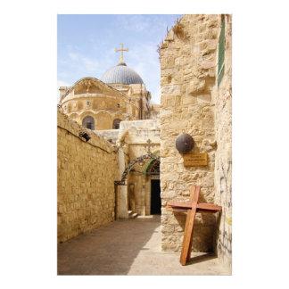 Jerusalem Via Dolorosa Station IX of the Cross Photo Print