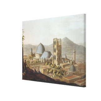 Jerusalem with the Church of the Holy Sepulchre, p Canvas Print