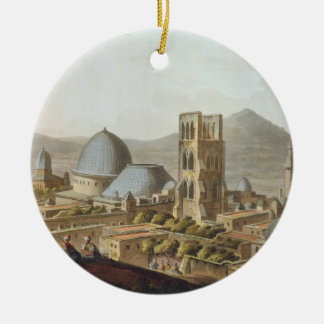 Jerusalem with the Church of the Holy Sepulchre, p Ceramic Ornament
