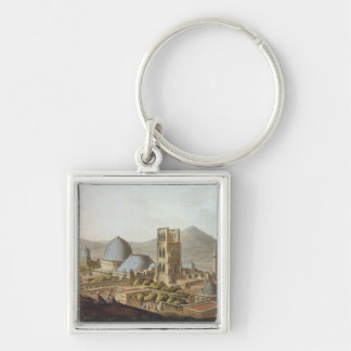 Jerusalem with the Church of the Holy Sepulchre, p Keychains