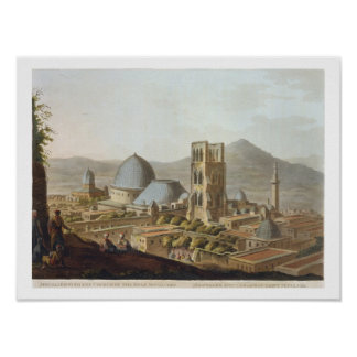 Jerusalem with the Church of the Holy Sepulchre, p Poster