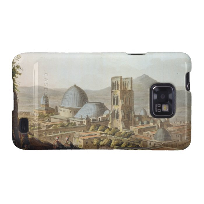 Jerusalem with the Church of the Holy Sepulchre, p Samsung Galaxy SII Cover