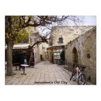 Jerusalem's Old City Postcard