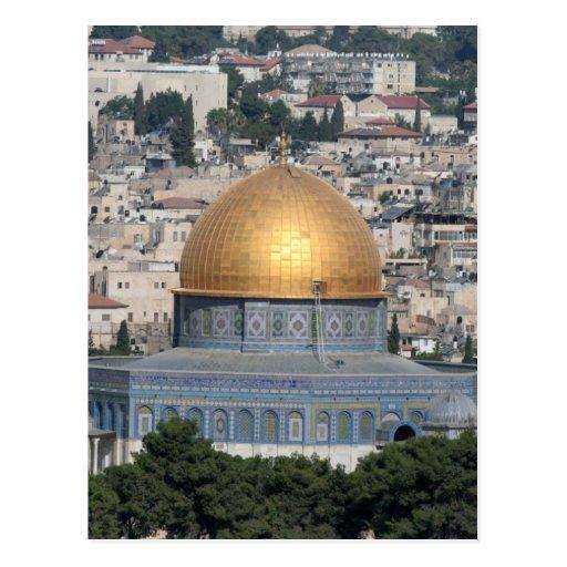 Jerusalén - bóveda de las tarjetas y de los postal
