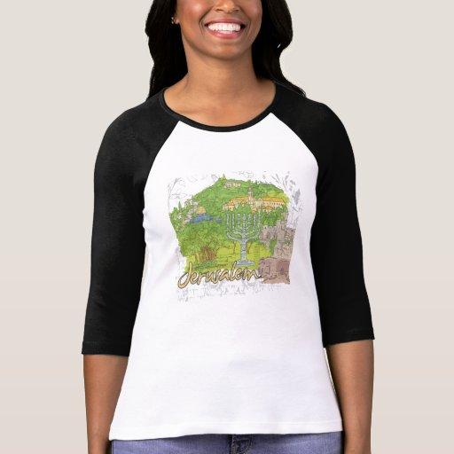 Jerusalén Camisetas