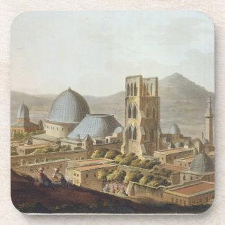 Jerusalén con la iglesia del sepulcro santo, p posavaso