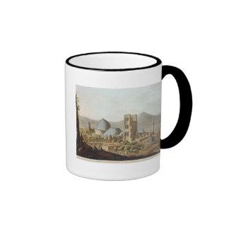 Jerusalén con la iglesia del sepulcro santo p taza de café